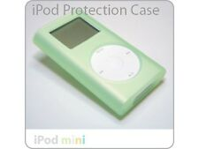 iPod Mini GREEN Silicone Case Skin + Clip NEW!!!