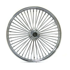 "FAT SPOKE 21"" FRONT  WHEEL CHROME 21 X 3.5 HARLEY SOFTAIL FXSTD DEUCE 2000-2006"