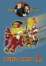 Laurel & Hardy -2 DVD -Le Facteur Incandescent/Laurel Dans La Mine/A Toute Allur