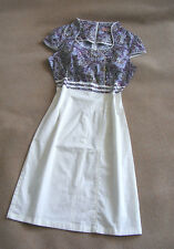 Blue purple Chinese dress party fancy Halloween new never worn UK 8