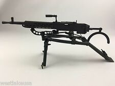 DID 1/6th Scale Herbert Zeller MG-37 Heavy Machine Gun w/ Tripod ( Metal, Used)
