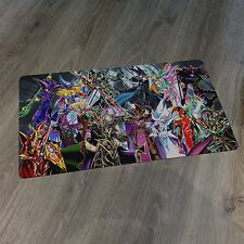 YuGiOh Spellcaster Playmat - Dark Magician of Chaos, Dark Paladin, DMG - New Mat