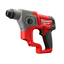 Milwaukee M12 FUEL SDS+ ROTARY HAMMER M12CH-0 LED Light & Fuel Gauge*USA Brand