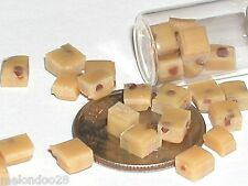 5 Pc Miniature dollhouse tiny Chocolate Chip easter cookie Dough candy food Rare