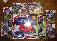 Marvel Walmart SpiderMan Wars Venom Scorpion Goblin Lizard Iron Armored Ock Lot