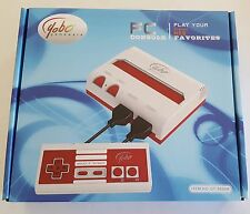 NEW Red & White Yobo Fc Video Game System to play NES 8 Bit Nintendo Games