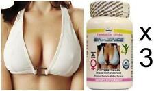 3 Breast Enlargement Pills Enhancement Bust Enhancer Success Tablets #90 caps