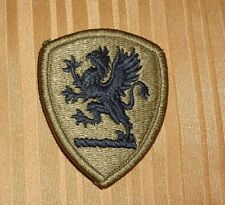 ARMY PATCH, MICHIGAN ,NATIONAL GUARD HQRS  ,MULTI-CAM,SCORPION, WITH VELCR