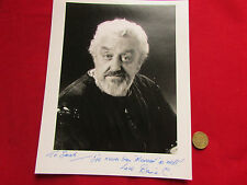 Bernard CRIBBINS  Dr WHO  & Wombles Actor Original Hand Signed 10 X 8 Photograph
