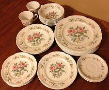 Johnson Bros Garden Party 28pc China Lot Collection Dinnerware Brothers England