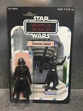 Custom Star Wars vintage German Darth Vader WWII Figure jedi force military