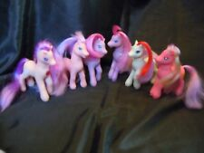 MY LITTLE PONY - G2 x 6 ALL WITH MAJOR HAIR CUTS & / OR MARKS 1997 - 2001- LOT 4