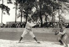 NY YANKEES BABE RUTH TAKES BATTING PRACTICE DURING SPRING TRAINING PALM SPRINGS