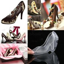 3D High-Heel Shoe Chocolate Candy Cake Cookies Decorating Mould Ice Soap Mold