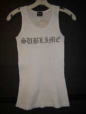 Sublime Tank Top Dragonfly Rock and Roll Visions 2005 Long Beach, Ca. Size Med.
