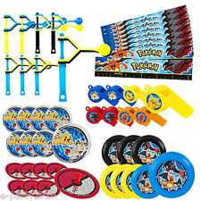 POKEMON Pikachu and Friends FAVOR PACK (48pc) ~ Birthday Party Supplies Toys