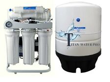 RO Light Commercial Reverse Osmosis Water Filter System 400 GPD- Booster Pump-PG