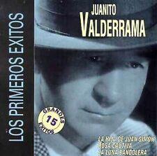 FREE US SH (int'l sh=$0-$3) NEW CD Valderrama, Juanito: Los Primeros Exitos