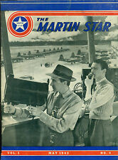"MARTIN STAR Aircraft Magazine #4 May 1942 with ""Oral Sabotage"" article insert"