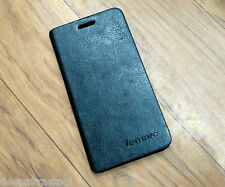 Premium Leather Flip Cover Case Folding Stand For Lenovo A6000 PLUS