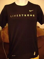 NIKE LIVESTRONG SHIRT-SMALL- NIKE/DRI FIT SPORTS SHIRT