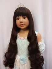 "NWT Masterpiece Dolls Cinderella Brunette Monika Levenig 48"" Exclusive Doll"