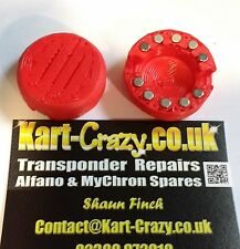 Kart Magnetico Caster & Camber Calotte Tony FA Exprit Kosmic OTK - Rosso