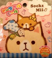 Kawaii Mind Wave Sticker Flakes Sack Socks Mii 71 Stickers