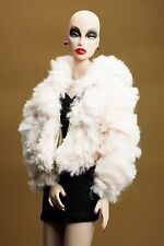 The Vogue Light Pink Fashion Faux-Fur Coat Jacket for Barbie Silkstone Royalty