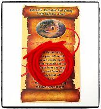 3 pcs/lot Kabbalah Red String Wool Bracelet Evil Eye Protection with Prayer Card