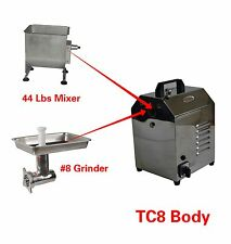 Hakka Multi-functional Commercial Meat Mixer And Meat Grinder Machines TC8+FME02