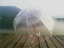 Transparent Clear Rain Umbrella Parasol Dome for Wedding Party Favor Fashion