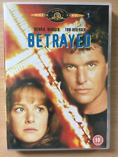 Tom Berenger Debra Winger BETRAYED ~ 1988 Costa-Gavras Ku Klux Klan Drama UK DVD