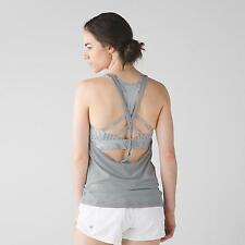 NWT Lululemon Twist And Toil Tank Sz.10 Heathered Seal Grey  ~SOLD OUT~ MSRP $68