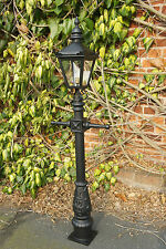 Minature Victorian Style Garden Lamp Post Driveway Lighting Patio Lamppost