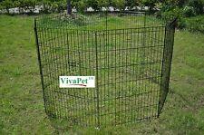 91CM High, Dog Rabbit Guinea Duck Chicken Enclosure Run PlayPen Cage, Safety Net