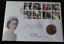 2012 B/U UK £5 COIN SET IN A ROYAL MINT + MAIL PNC QUEEN'S DIAMOND JUBILEE