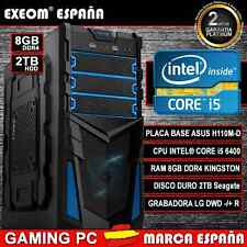 ORDENADOR PC GAMING INTEL CORE i5 6400 6ª GEN 8GB DDR4 2TB HDMI - MARCA ESPAÑA