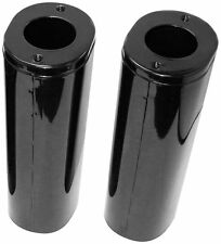 Bikers Choice - 301167 - Fork Tube Covers, 2in. Oversided - Black 48-2962