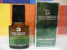 OLD FORMULA PACO RABANNE POUR HOMME EDT SPRAY 1.0 OZ / 30 ML NEW IN BOX