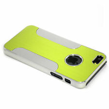 New Green Aluminum and Plastic Hybrid Hard Case For iPhone 5 5S SE