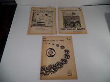 Whole Earth Catolog - 1970 three catalog lot