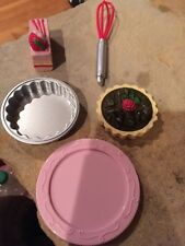 American Girl Doll Graces Baking Items New