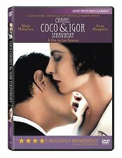 Coco Chanel & Igor Stravinsky dvd new