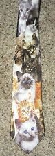 Cat Feline Kitten Various Breed CAT Animal Theme Man Neck Tie