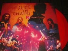 ALICE IN CHAINS MTV Unplugged red vinyl 2-LP unplayed