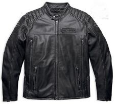 Harley Davidson Men's  Midway Distressed Leather Jacket. US XL. New !