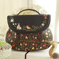 Mori Girl Embroider Vintage Sweet Lolita Handbags Messenger Bag Shoulder Bags