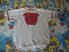 Vintage 90's RED DOG Beer Gray shirt BASEBALL JERSEY Adult Size XL