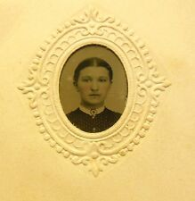 Jem CDV, 1858, Woman Portait Great for Doll House Miniatures, Pic is 1.50x1.25